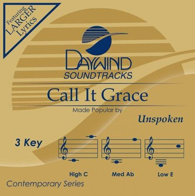 Call It Grace, Acc CD   -     By: Unspoken