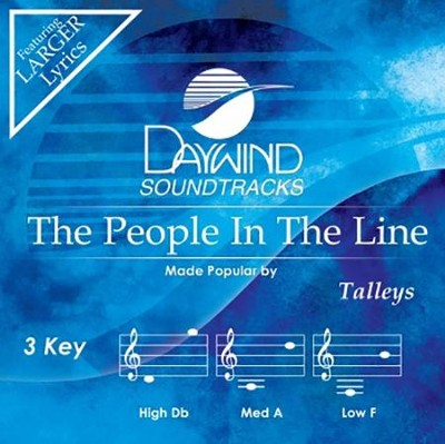 The People In The Line, Acc CD   -     By: The Talleys