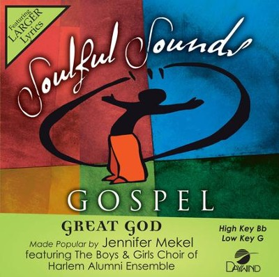 Great God, Acc CD   -     By: Jennifer Mekel