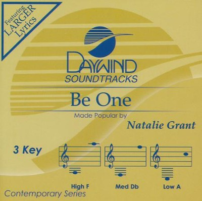 Be One, Acc CD   -     By: Natalie Grant