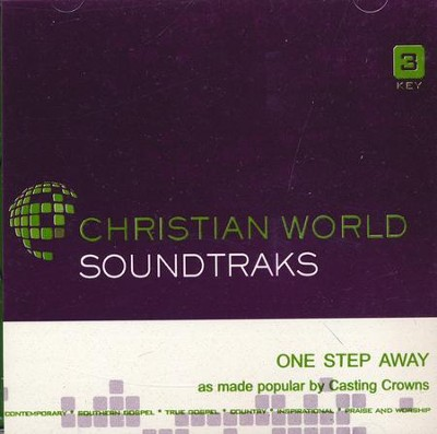 One Step Away, Accompaniment CD   -     By: Casting Crowns