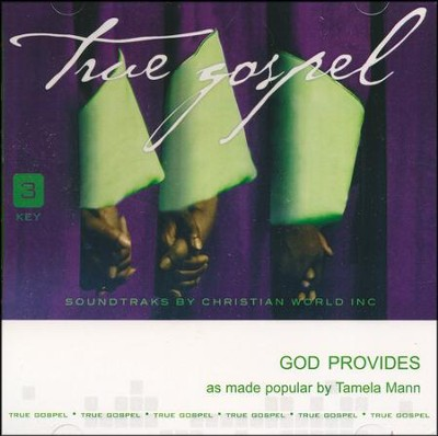 God Provides, Acc CD   -     By: Tamela Mann