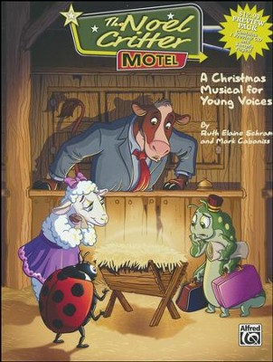 The Noel Critter Motel, A Christmas Musical for Young Voices, CD Preview Pack  -     By: Ruth Elaine Schram, Mark Cabaniss