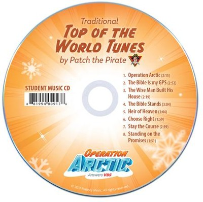 Operation Arctic VBS: Traditional Student Music Audio CD, (pack of 10)   -