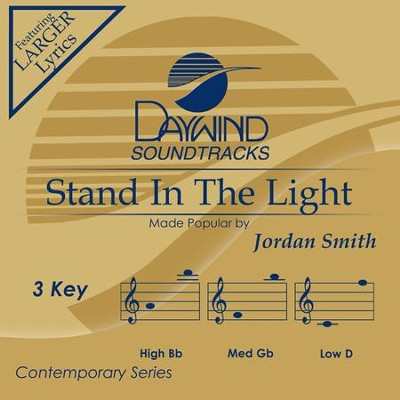 Stand in the Light, Accompaniment CD   -     By: Jordan Smith