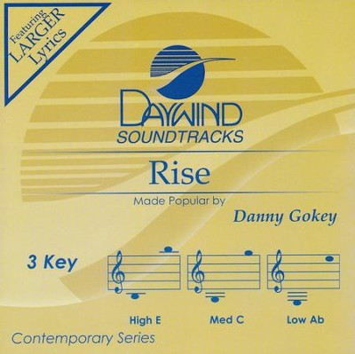 Rise, Accompaniment CD   -     By: Danny Gokey