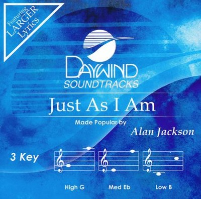 Just As I Am, Accompaniment CD   -     By: Alan Jackson