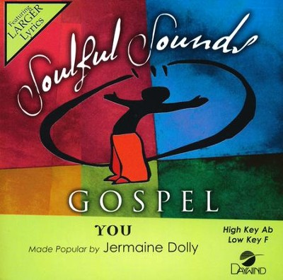 You, Accompaniment CD   -     By: Jermaine Dolly
