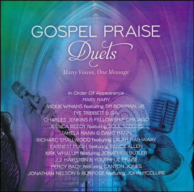 Gospel Praise Duets: Many Voices, One Message   -     By: Various Artists