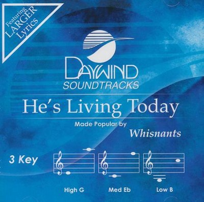 He's Living Today, Acc CD    -     By: The Whisnants