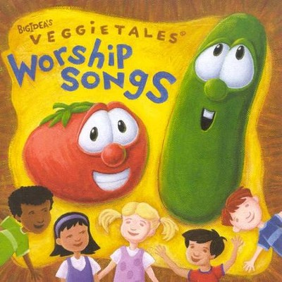 VeggieTales Music: Worship Songs, Compact Disc [CD]   -