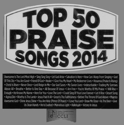 Top 50 Praise Songs, 2014 Edition--3 CDs   -     By: Maranatha! Music