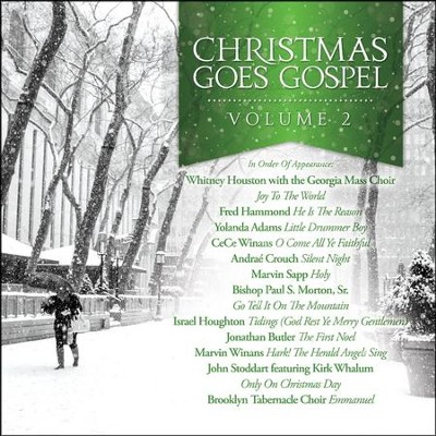 Christmas Goes Gospel, Volume 2   -     By: Various Artists