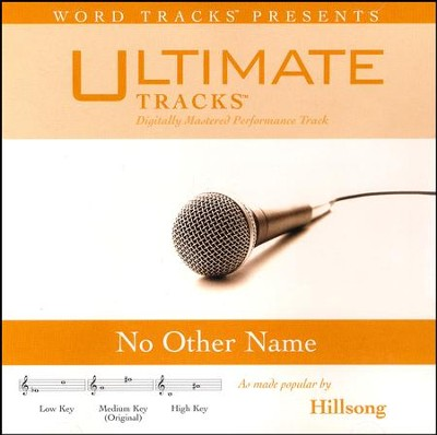 No Other Name, Acc CD   -     By: Hillsong