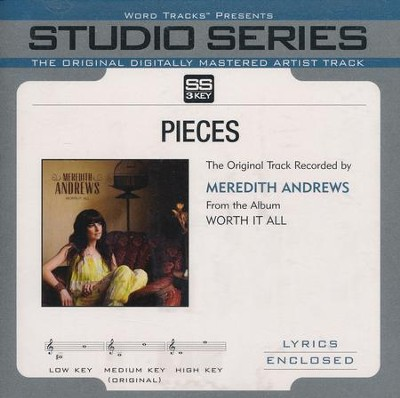 Pieces, Acc CD   -     By: Meredith Andrews