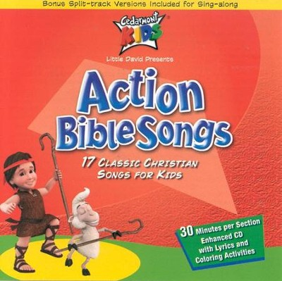 Action Bible Songs CD   -     By: Cedarmont Kids