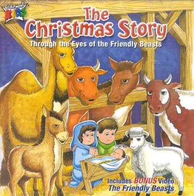 The Christmas Story, CD   -     By: Cedarmont Kids