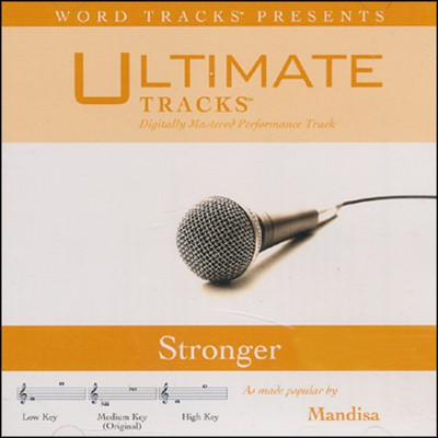 Stronger  [Music Download] -     By: Mandisa