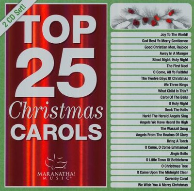 Top 25 Christmas Carols   -