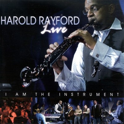 Live: I Am The Instrument CD   -     By: Harold Rayford