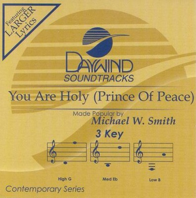 You Are Holy, Acc CD   -     By: Michael W. Smith