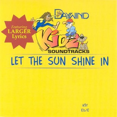 Let The Sun Shine In, Accompaniment CD   -