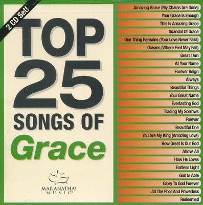 Top 25 Songs of Grace--2 CDs   -     By: Various Artists