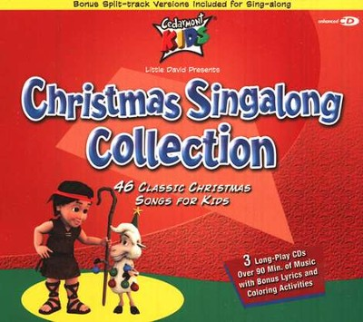 Christmas Singalong Collection, 3 Cedarmont CDs [Compact Disc]   -     By: Cedarmont Kids