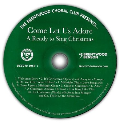 Come Let Us Adore: A Ready to Sing Christmas (Listening CD)  -     By: Russell Mauldin