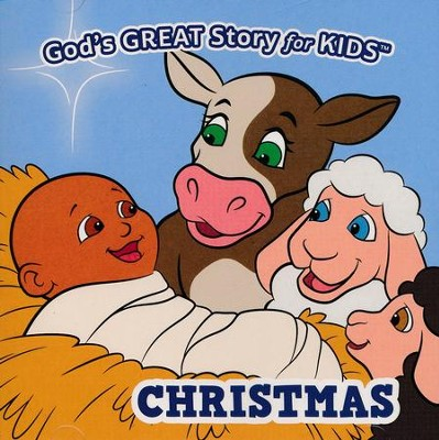 God's Great Story for Kids: Christmas   -     By: David Huntsinger