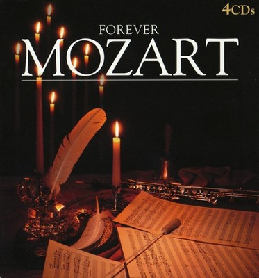 Forever Mozart Collector's Tin, 4 CDs   -