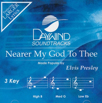 Nearer My God To Thee, Acc CD    -     By: Elvis Presley