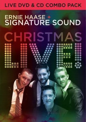 Christmas Live! CD/DVD   -     By: Ernie Haase & Signature Sound