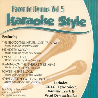 Favorite Hymns, Vol. 5, Karaoke CD   -