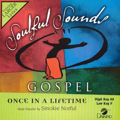 Once in a Lifetime Acc, CD  -     By: Smokie Norful