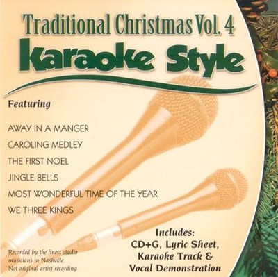 Traditional Christmas, Volume 4, Karaoke Style CD   -     By: Various Artists
