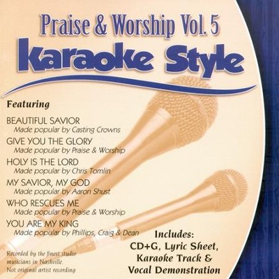 Praise & Worship, Vol. 5, Karaoke CD   -