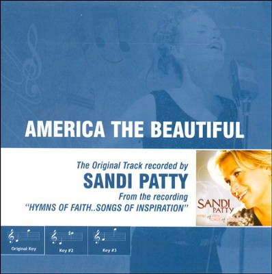 America the Beautiful, Accompaniment CD   -     By: Sandi Patty