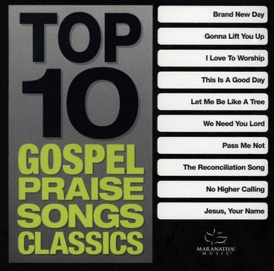 Top 10 Gospel Praise Songs Classics (Green)   -     By: Various Artists