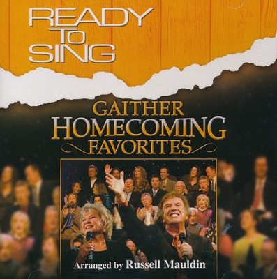 Ready to Sing: Gaither Homecoming Favorites, Listening CD  -     By: Russell Mauldin
