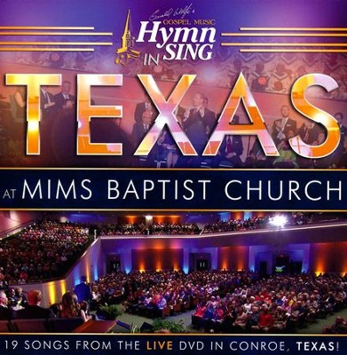 Gospel Music Hymn Sing: Live In Texas CD   -     By: Gerald Wolfe