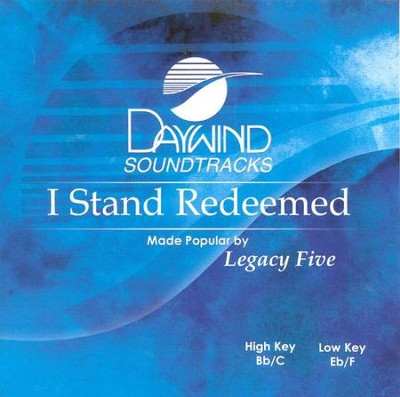 I Stand Redeemed, Acc CD   -     By: Legacy Five