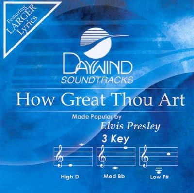 How Great Thou Art, Acc CD   -     By: Elvis Presley