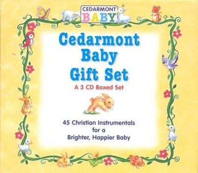 Cedarmont Baby Gift Set, 3 CDs   -     By: Cedarmont Baby