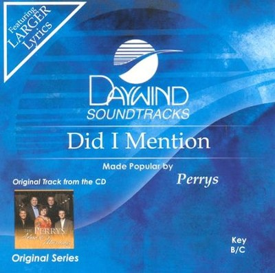 Did I Mention, Acc CD   -     By: The Perrys