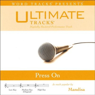 Press On, Acc CD   -     By: Mandisa