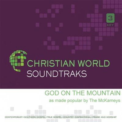 God on the Mountain, Acc CD   -     By: The McKameys