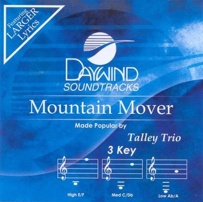 Mountain Mover, Accompaniment CD   -     By: The Talley Trio