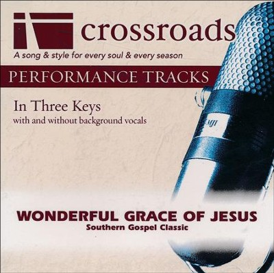 Wonderful Grace Of Jesus, Acc CD   -