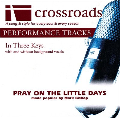 Pray on the Little Days, Accompaniment Track   -     By: Mark Bishop